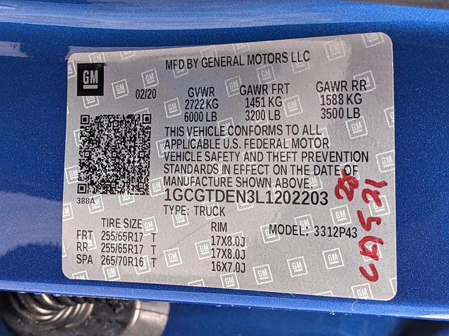 2020 Chevrolet Colorado Crew Cab 4x4, Pickup #L1202203 - photo 25