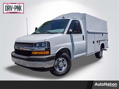 2020 Chevrolet Express 3500 4x2, Knapheide KUV Service Utility Van #L1208298 - photo 1