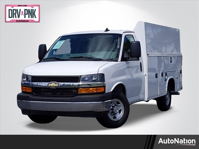 2020 Chevrolet Express 3500 4x2, Knapheide Service Utility Van #L1209730 - photo 1