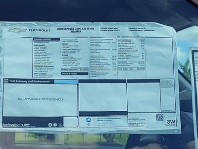 2020 Chevrolet Express 3500 4x2, Knapheide KUV Service Utility Van #L1209730 - photo 16