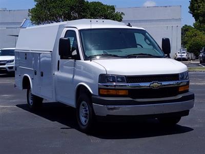 2020 Chevrolet Express 3500 4x2, Knapheide KUV Service Utility Van #L1219532 - photo 7