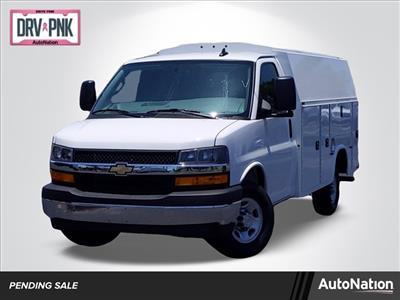 2020 Chevrolet Express 3500 4x2, Knapheide KUV Service Utility Van #L1219532 - photo 1