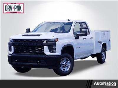 2020 Chevrolet Silverado 2500 Double Cab 4x2, Knapheide Steel Service Body #LF237147 - photo 1