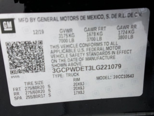 2020 Silverado 1500 Crew Cab 4x2, Pickup #LG221079 - photo 16