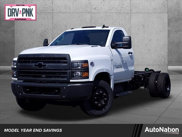 2020 Chevrolet Silverado Medium Duty Regular Cab DRW 4x2, Cab Chassis #LH355466 - photo 1