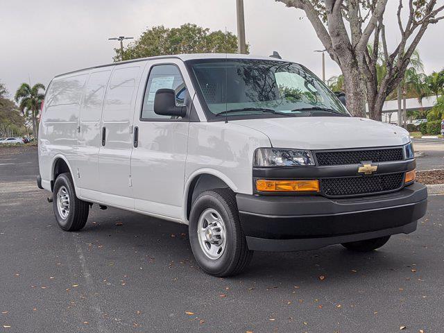 2021 Chevrolet Express 2500 4x2, Upfitted Cargo Van #M1166125 - photo 11