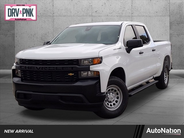 2021 Chevrolet Silverado 1500 Crew Cab 4x2, Pickup #MG138367 - photo 1