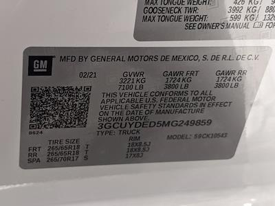 2021 Chevrolet Silverado 1500 Crew Cab 4x4, Pickup #MG249859 - photo 16