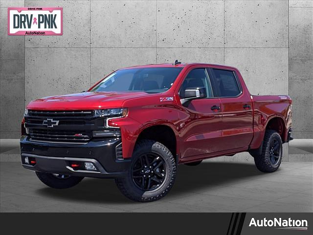 2021 Chevrolet Silverado 1500 Crew Cab 4x4, Pickup #MG279902 - photo 1