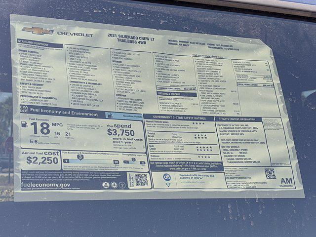 2021 Chevrolet Silverado 1500 Crew Cab 4x4, Pickup #MG281766 - photo 16