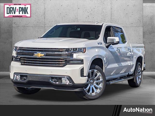 2021 Chevrolet Silverado 1500 Crew Cab 4x4, Pickup #MG282946 - photo 1