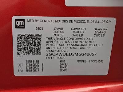 2021 Chevrolet Silverado 1500 Crew Cab 4x2, Pickup #MG342057 - photo 16