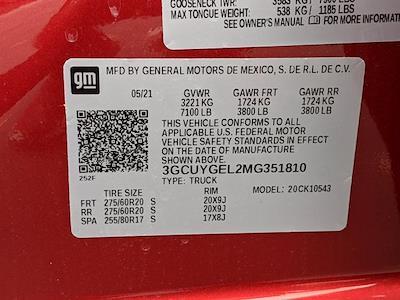 2021 Silverado 1500 Crew Cab 4x4,  Pickup #MG351810 - photo 16