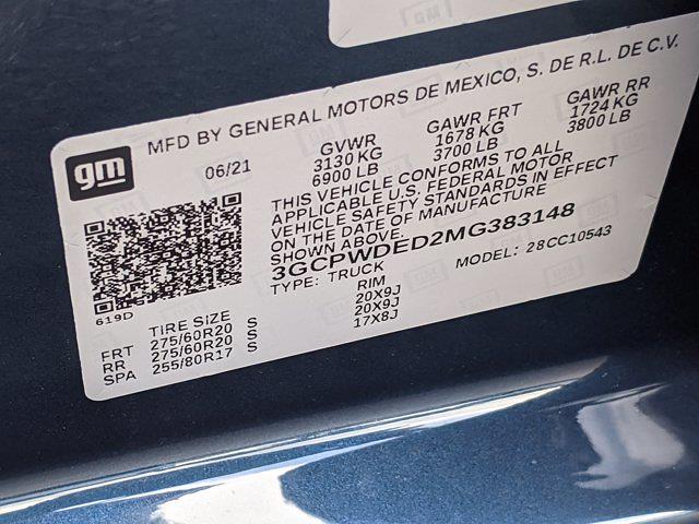 2021 Chevrolet Silverado 1500 Crew Cab 4x2, Pickup #MG383148 - photo 17