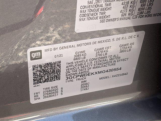 2021 Silverado 1500 Crew Cab 4x2,  Pickup #MG430554 - photo 16