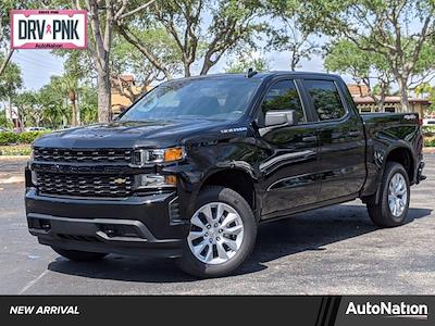 2021 Chevrolet Silverado 1500 Crew Cab 4x4, Pickup #MZ274730 - photo 1