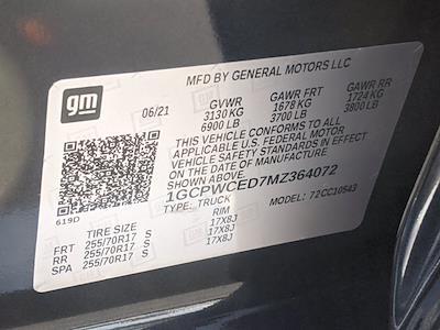 2021 Chevrolet Silverado 1500 Crew Cab 4x2, Pickup #MZ364072 - photo 16