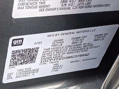 2021 Chevrolet Silverado 1500 Crew Cab 4x4, Pickup #MZ379942 - photo 16