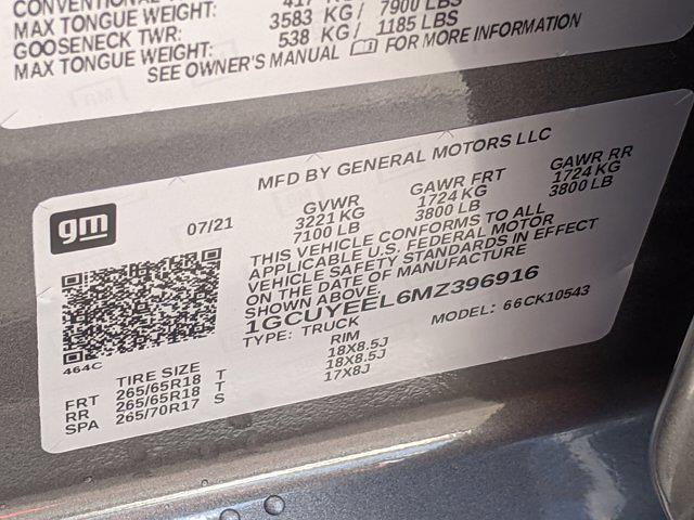 2021 Silverado 1500 Crew Cab 4x4,  Pickup #MZ396916 - photo 16