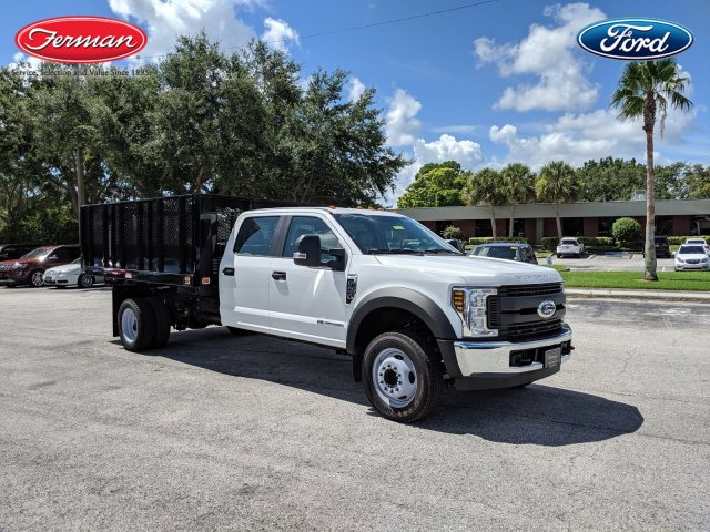 2018 F-450 Crew Cab DRW 4x2,  Knapheide Value-Master X Stake Bed #18F639 - photo 1