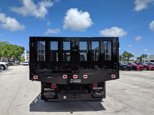2018 F-450 Crew Cab DRW 4x2,  Knapheide Value-Master X Stake Bed #18F639 - photo 4