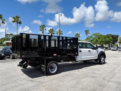 2018 F-450 Crew Cab DRW 4x2,  Knapheide Value-Master X Stake Bed #18F639 - photo 2