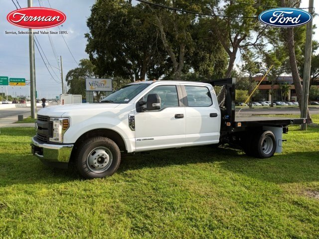 2018 F-350 Crew Cab DRW 4x2,  Knapheide Value-Master X Platform Body #18F799 - photo 4