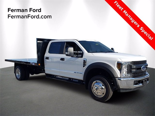 2019 Ford F-450 Crew Cab DRW 4x2, Reading Platform Body #19F1078 - photo 1