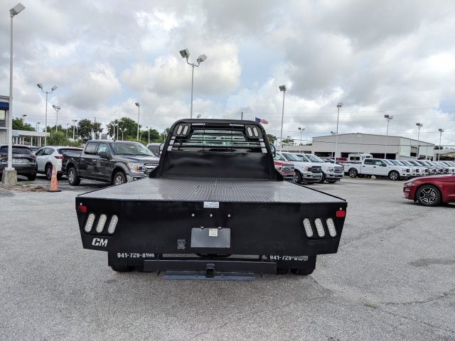 2019 F-450 Super Cab DRW 4x4,  CM Truck Beds RD Model Platform Body #19F160 - photo 4