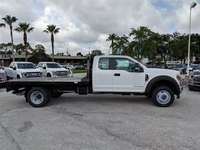 2019 F-450 Super Cab DRW 4x4,  CM Truck Beds RD Model Platform Body #19F160 - photo 3