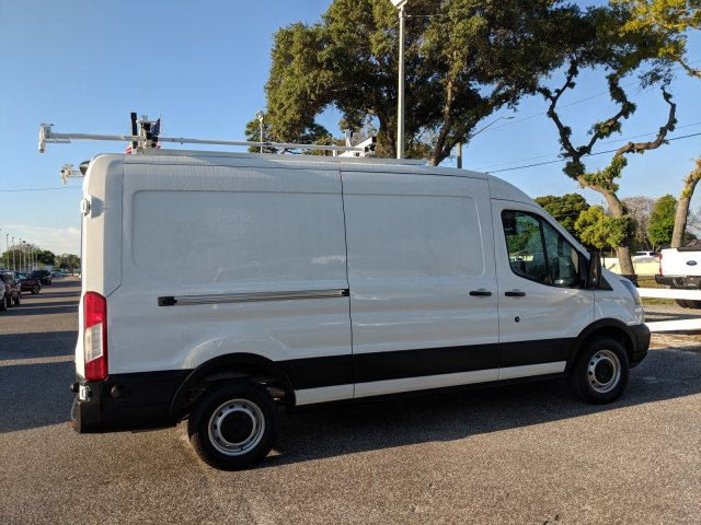 2019 Transit 250 Med Roof 4x2,  Kargo Master HVAC Upfitted Cargo Van #19F324 - photo 4