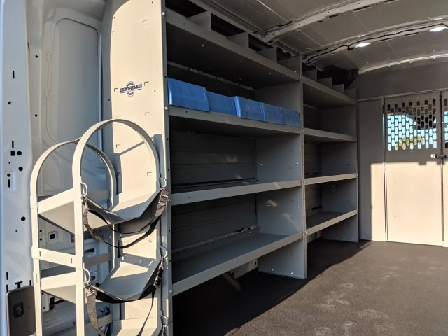 2019 Transit 250 Med Roof 4x2,  Kargo Master Upfitted Cargo Van #19F324 - photo 1
