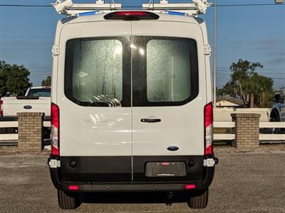2019 Transit 250 Med Roof 4x2,  Kargo Master HVAC Upfitted Cargo Van #19F324 - photo 5