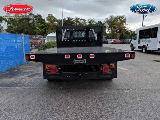 2019 F-450 Crew Cab DRW 4x4,  Knapheide Value-Master X Platform Body #19F335 - photo 4