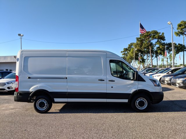 2019 Transit 250 Med Roof 4x2,  Empty Cargo Van #19F444 - photo 3