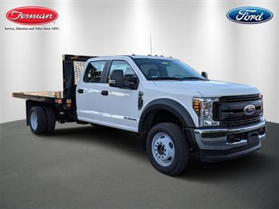 2019 F-450 Crew Cab DRW 4x4,  Knapheide Value-Master X Platform Body #19F536 - photo 1