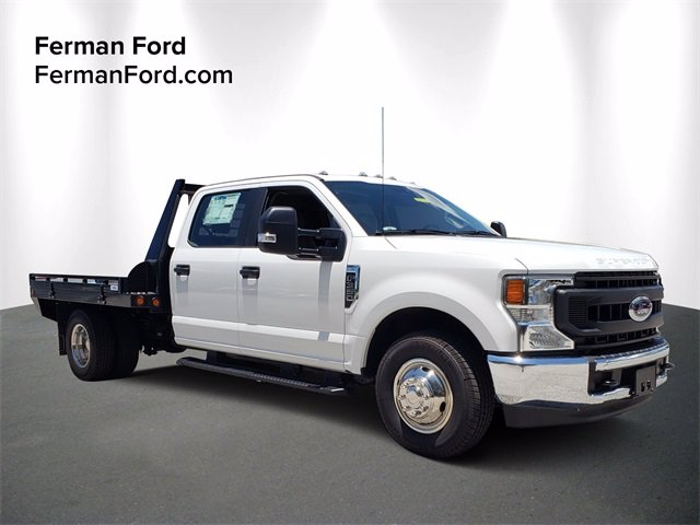 2020 F-350 Crew Cab DRW 4x2, Freedom Platform Body #20F209 - photo 1