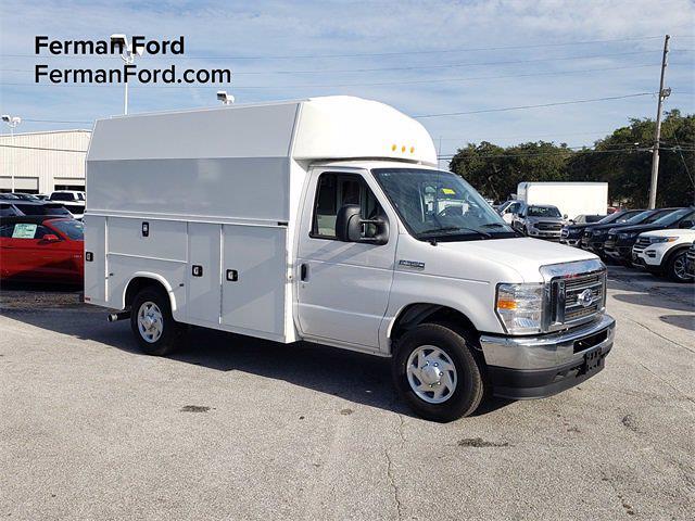 2021 Ford E-350 4x2, Knapheide Service Utility Van #21F010 - photo 1