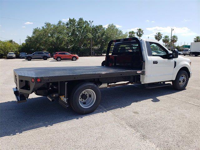 2021 Ford F-350 Regular Cab DRW 4x2, Reading Platform Body #21F088 - photo 1
