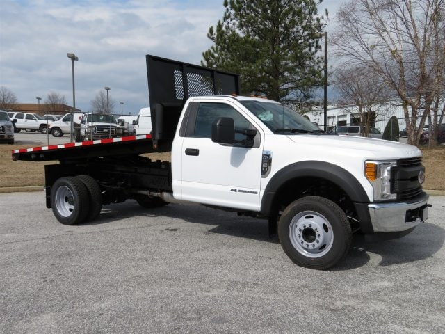 2017 F-550 Regular Cab DRW, Smyrna Truck Platform Body #17T1277 - photo 1