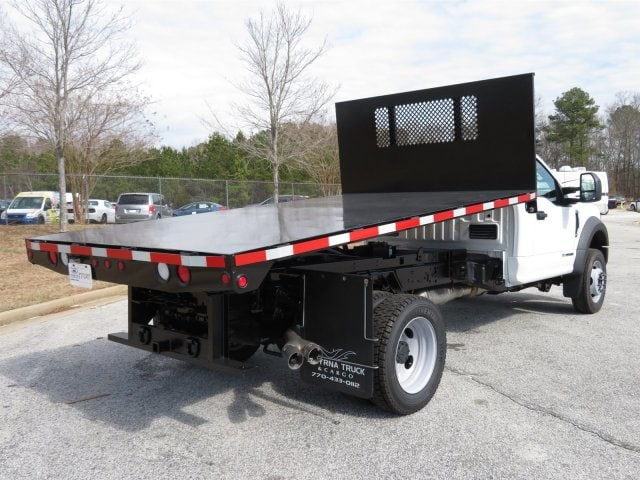2017 F-550 Regular Cab DRW, Smyrna Truck Platform Body #17T1277 - photo 2