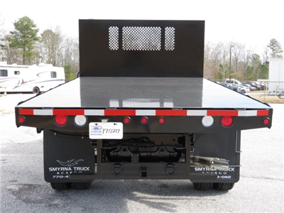 2017 F-550 Regular Cab DRW, Smyrna Truck Platform Body #17T1277 - photo 4