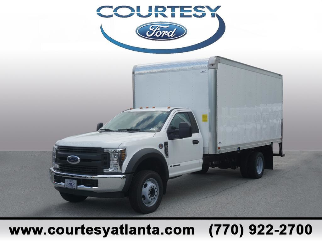 New 2018 Ford F 550 Regular Cab Dry Freight For Sale In Smyrna Ga Drw 4x2 Truck Aluminum 18t548