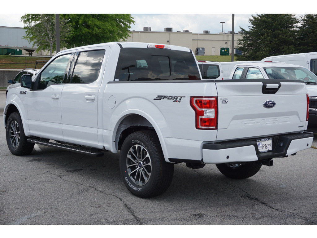 2018 F-150 SuperCrew Cab 4x4,  Pickup #18T607 - photo 2