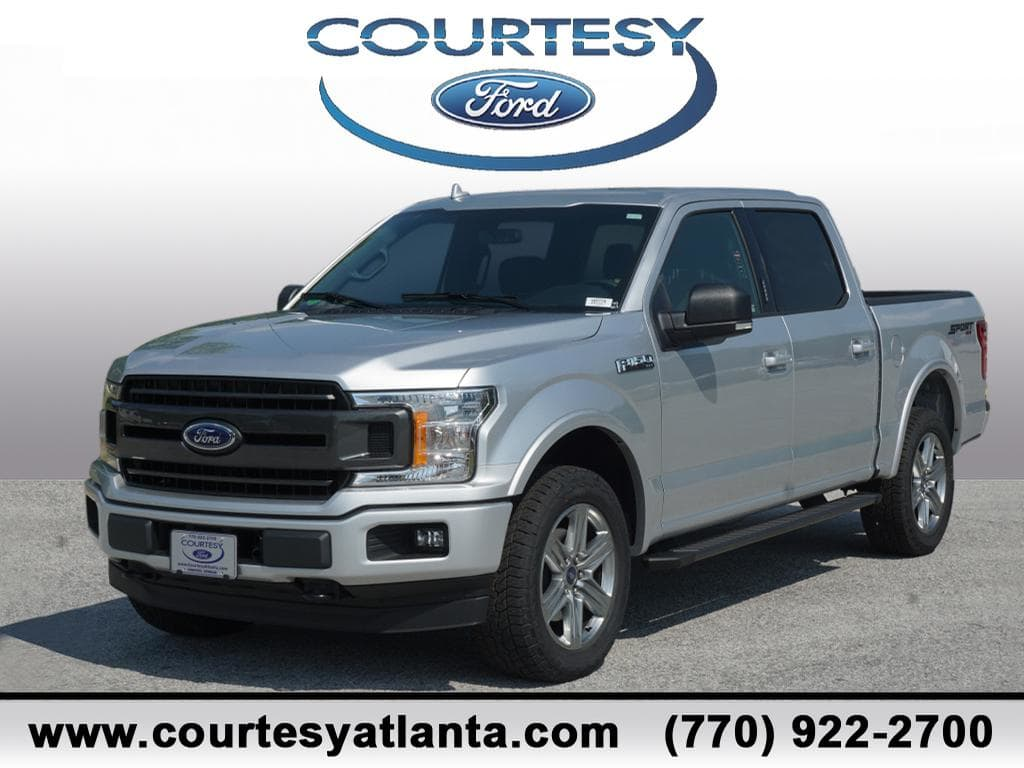 2018 F-150 SuperCrew Cab 4x4,  Pickup #18T779 - photo 1