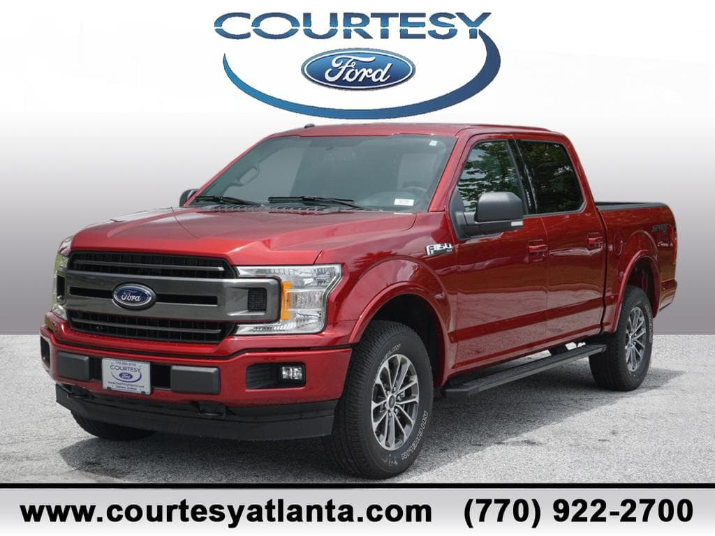 2018 F-150 SuperCrew Cab 4x4,  Pickup #18T795 - photo 1