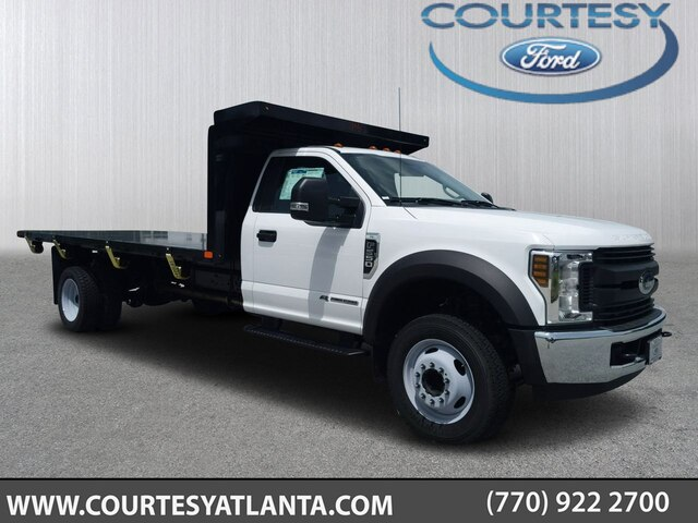 2019 Ford F-550 Regular Cab DRW RWD, PJ's Platform Body #19T1324 - photo 1