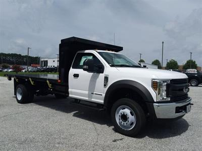 2019 F-550 Regular Cab DRW 4x2, PJ's Platform Body #19T1324 - photo 5