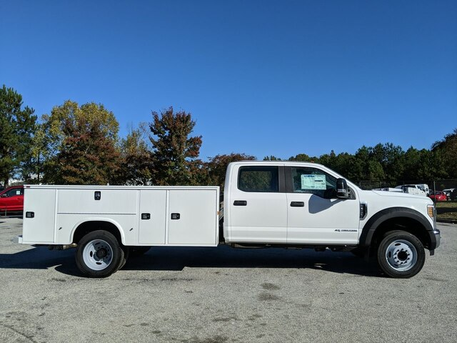 2019 F-450 Crew Cab DRW 4x2, Reading Classic II Steel Service Body #19T1944 - photo 4