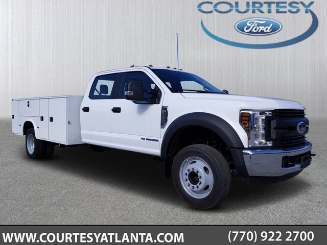 2019 Ford F-450 Crew Cab DRW RWD, Knapheide Steel Service Body #19T2030 - photo 3